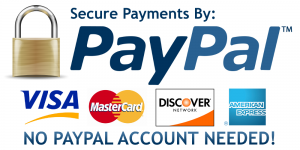 PayPal Logo with Credit Card Logos